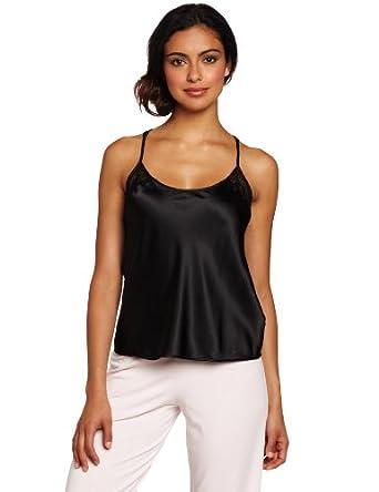 (性 感)Calvin Klein Women's Racerback Camisole卡文克莱缎面丝滑吊带 驼色 $15.50