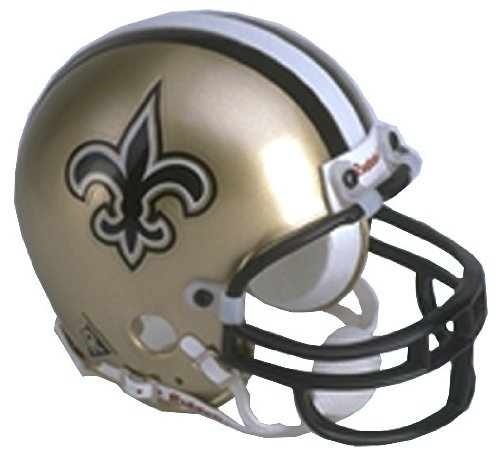New Orleans Saints Replica Riddell Mini Helmet at Amazon.com