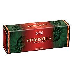 Hem Citronella Incense sticks...(9.3 cm X 6.0 cm X 25.5cm, Black )