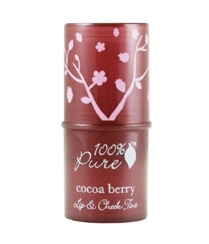 100%Pure フルーツ ピグメントリップ アンド チーク ティント 6.ココアベリー 7.5g