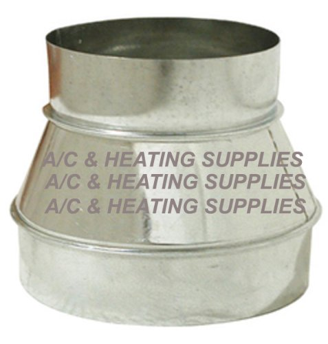 Single Wall Galvanized Metal Duct Reducer 6