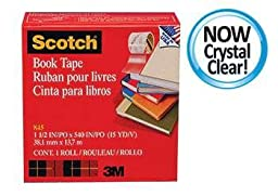 3M Scotch Bookbinding Tape 4V X 15 Yds By 3M Company