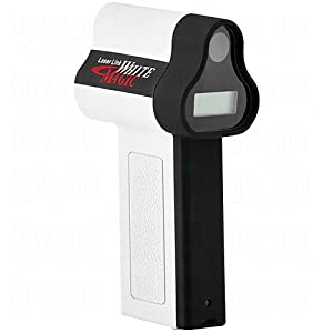 Laser Link Golf White Magic Laser Rangefinder, White/Black