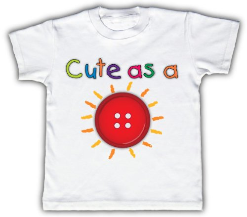 Cute as a Button T-Shirt
