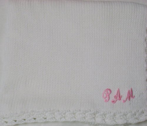 Hand Knitted Baby Blanket back-335066