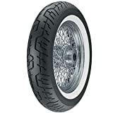 Dunlop Cruisemax Whitewall Front Tire - 130/90H-16/--