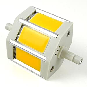 Led lampen test mengs r7s j78 78mm 6w dimmbar cob led for R7s led 78mm 100w