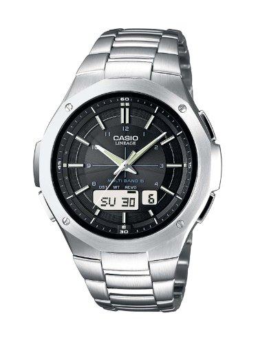 Casio Funkuhren Herren-Armbanduhr Funk-Solar-Kollektion Anaolg/ Digital Quarz LCW-M160D-1AER