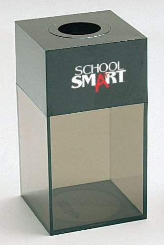 School Smart Magnetic Paper Clip Dispenser