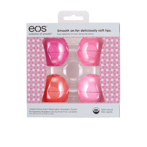 eos Limited Edition Basket of Fruit Lip Balm 期間限定フルーツ詰め合わせ
