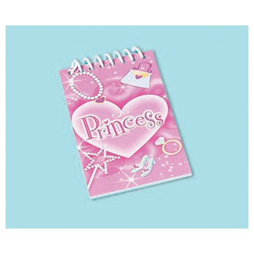 Princess Note Pads (1 dz)
