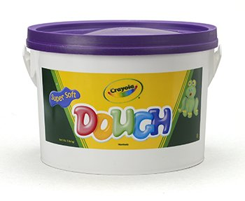 Modeling Dough 3Lb Bucket Purple -- Case of 3