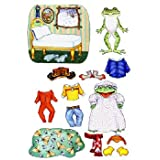 Freddie Frog Felt Figures For Flannelboard Stories Freddie Froggy Gets Dressed- Precut & Ready To Us