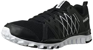 Reebok Men's Realflex Advance 2.0 Cross-Training Shoe,Black/White,13 M US