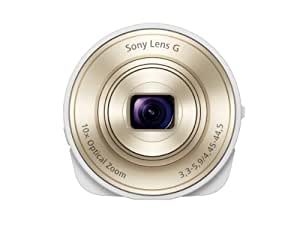 Sony DSC QX10/W Smartphone Attachable 4.45 44.5mm Lens Style Camera