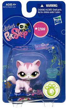 Picture of Hasbro Littlest Pet Shop Get The Pets Single Figure Pink Cat (B0041S73W0) (Hasbro Action Figures)