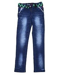 DUC Boy's Denim Navy Blue Jeans (kd01-nb-34)