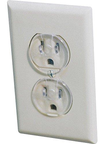 Dorel Junenille/ Safety 1st #1711 12PK Clear Outlet Cap (Pack of 3)