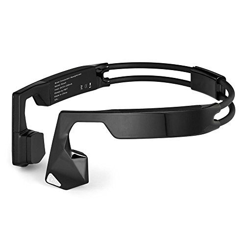 KSCAT Bluetooth Bone Conduction Waterproof IPX6 Titanium Open-ear Stereo Bone Conduction Headphones Bone Conduction Hearing Aid