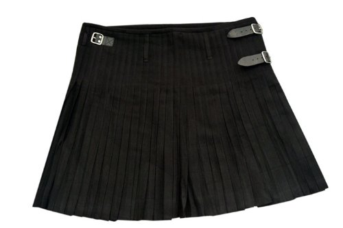 Szco Supplies Black Kilt, Size 30