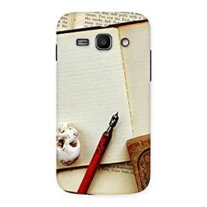 Little Diary Multicolor Back Case Cover for Galaxy Ace 3