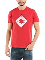 Hot Buttered Camiseta Manga Corta Emotion (Rojo)