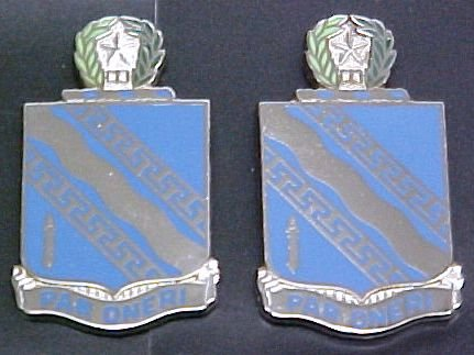 144th Infantry Texas Distinctive Unit Insignia - Pair