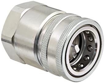 Dixon VHC Series Steel Hydraulic Quick-Connect Fitting, Coupler, Coupling x NPT