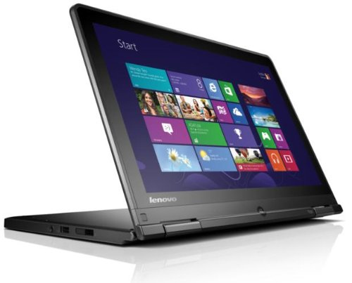 Lenovo ThinkPad Yoga 12.5-inch Touchscreen Notebook (Intel Core i5-4300U 1.9GHz, 8GB RAM, 500GB HDD, WLAN, BT, Webcam, Integrated Graphics, Windows 7 Professional)