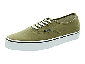 Vans Unisex Authentic (Rivet) Elmwood/TrueWhite Skate Shoe 9.5 Men US / 11 Women US