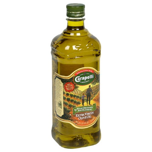 Carapelli Extra Virgin Olive Oil, 44-Ounce Plastic Bottles (Pack of 2)