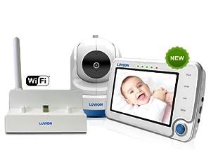 luvion supreme connect smart baby monitor wifi bridge baby. Black Bedroom Furniture Sets. Home Design Ideas