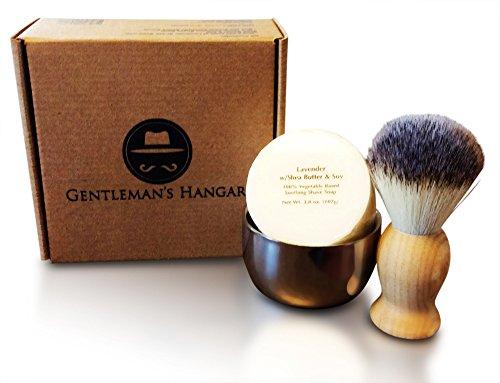 Gentleman's Hangar Men's Vintage Shaving Soap Kit (Mens Wet Shave compare prices)