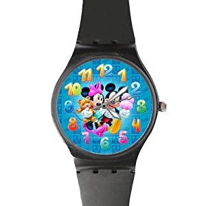 Watchize Minions Watch Custom Time Keeper Wrist Watch Red