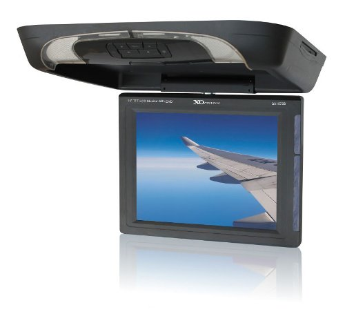 xo vision gx1572b 15 inch overhead lcd monitor with dvd. Black Bedroom Furniture Sets. Home Design Ideas