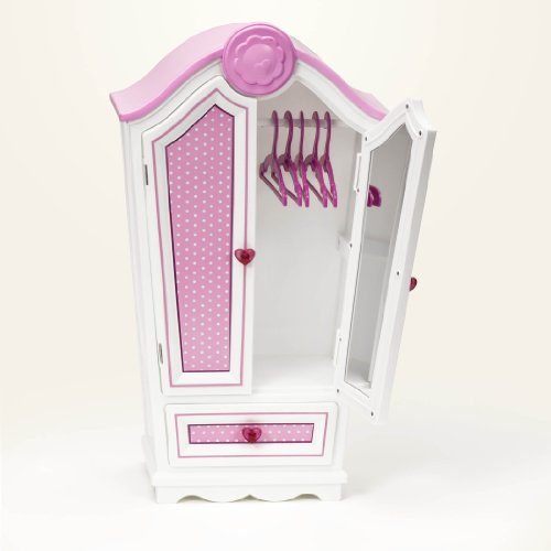 "Our Generation Polka Dot Armoire For 18"" Dolls front-903992"