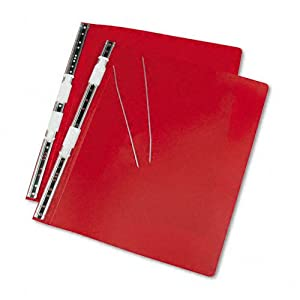 Acco Accohide Data Binder, 23 Point Flexible Cover, 14 7/8 X 11 Inches, Executive Red, (A7056079A)