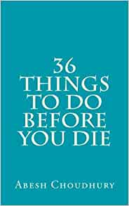 3 things to do before you die write a book