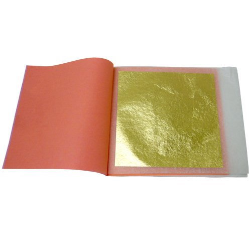 Edible Gold Leaf for Champagne 25 Leaves 23ktB0006GSZK0