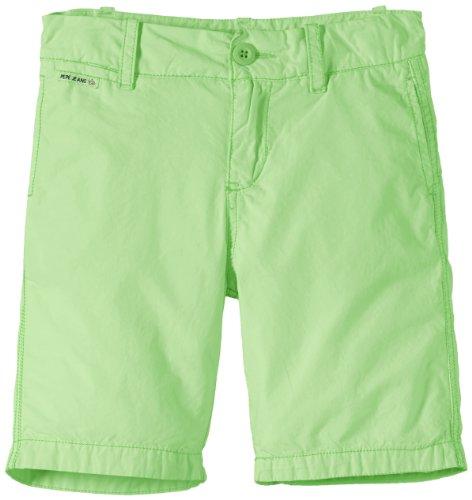 Pepe Jeans Jungen Short DES, Gr. 176 (Herstellergröße: L), Grün (SPRING GREEN 622)