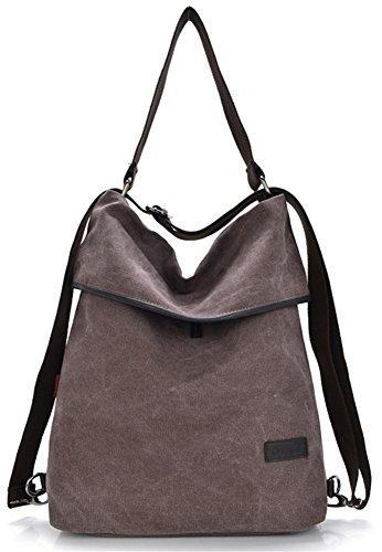 ERGEOB-Damen-Handtasche-Schultertasche-Farbe-roter-Bohnenpaste
