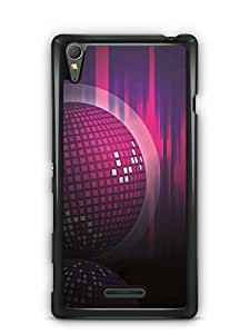 YuBingo Disco Background Designer Mobile Case Back Cover for Sony Xperia T3