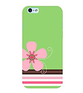 Pink Flower 3D Hard Polycarbonate Designer Back Case Cover for Apple iPhone 6s Plus :: Apple iPhone 6s+