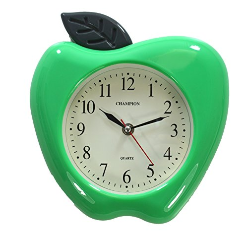 orologio-da-parete-al-quarzo-motivo-mela-verde-3d
