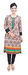 Krivi By Kk Women's Cotton Kurti (KRV-25-B_Multi-Coloured_M)