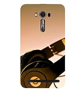 Kingcase Printed Back Case Cover For Asus Zenfone 2 Laser 5.5 ZE550KL - Multicolor
