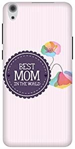 The Racoon Grip Best Mom hard plastic printed back case/cover for Lenovo S850
