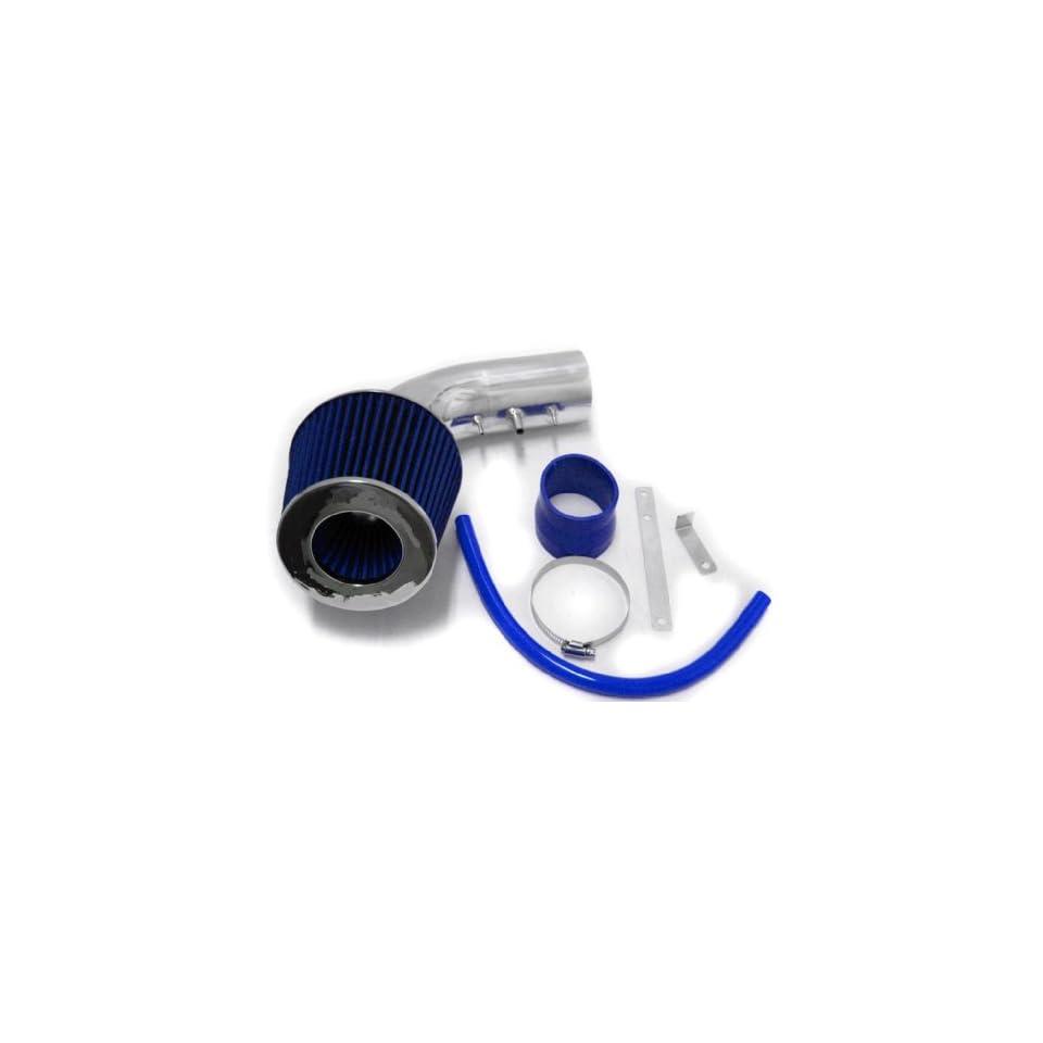 Blue 1986 1991 86 87 88 89 90 91 Honda Prelude SI Short Ram Air Intake + Filter