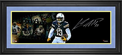 "Keenan Allen San Diego Chargers Framed Autographed 10"" x 30"" Film Strip Photograph - Fanatics Authentic Certified"