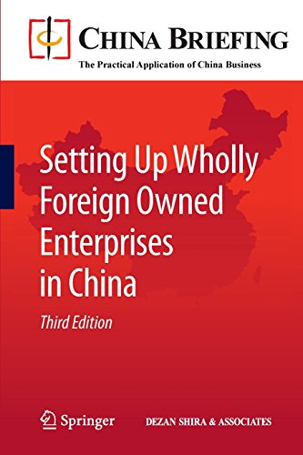 Setting Up Wholly Foreign Owned Enterprises in China (China Briefing) PDF